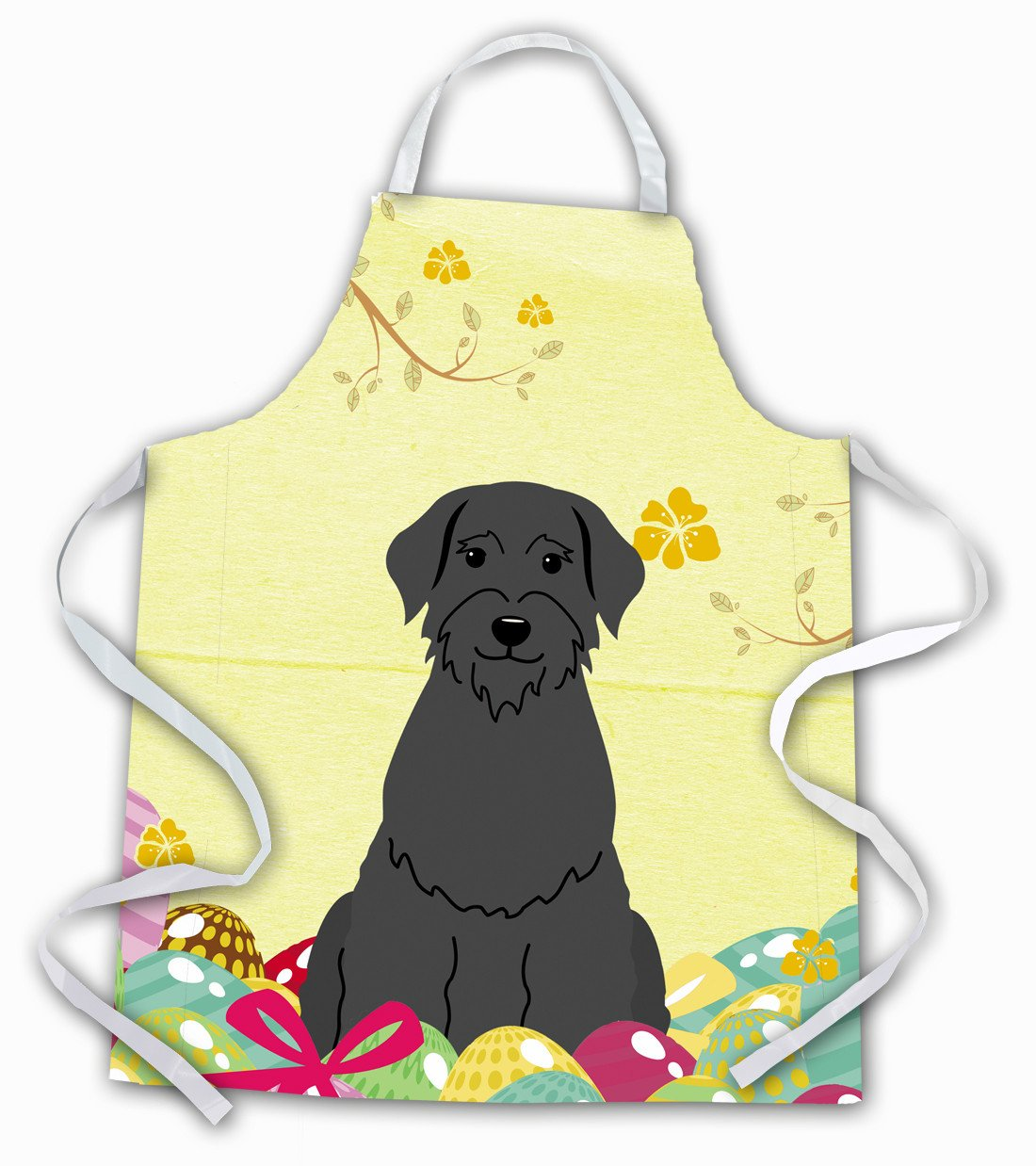 Easter Eggs Giant Schnauzer Apron BB6066APRON by Caroline's Treasures