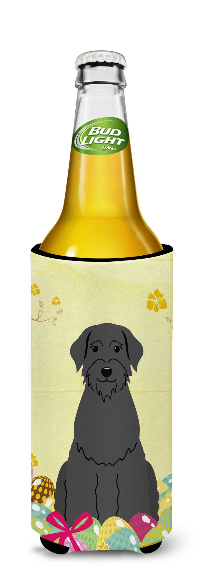 Easter Eggs Giant Schnauzer Michelob Ultra Hugger for slim cans BB6066MUK by Caroline's Treasures