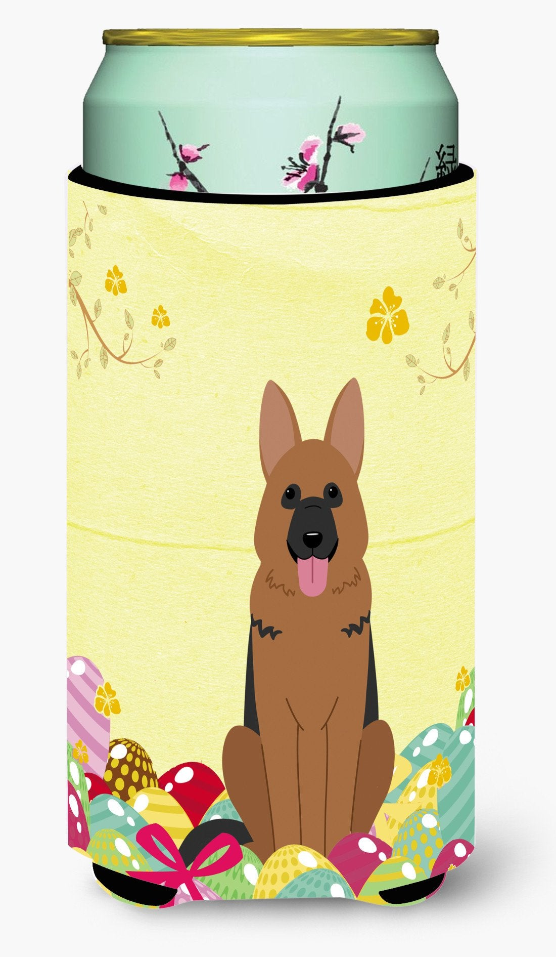Easter Eggs German Shepherd Tall Boy Beverage Insulator Hugger BB6067TBC by Caroline's Treasures