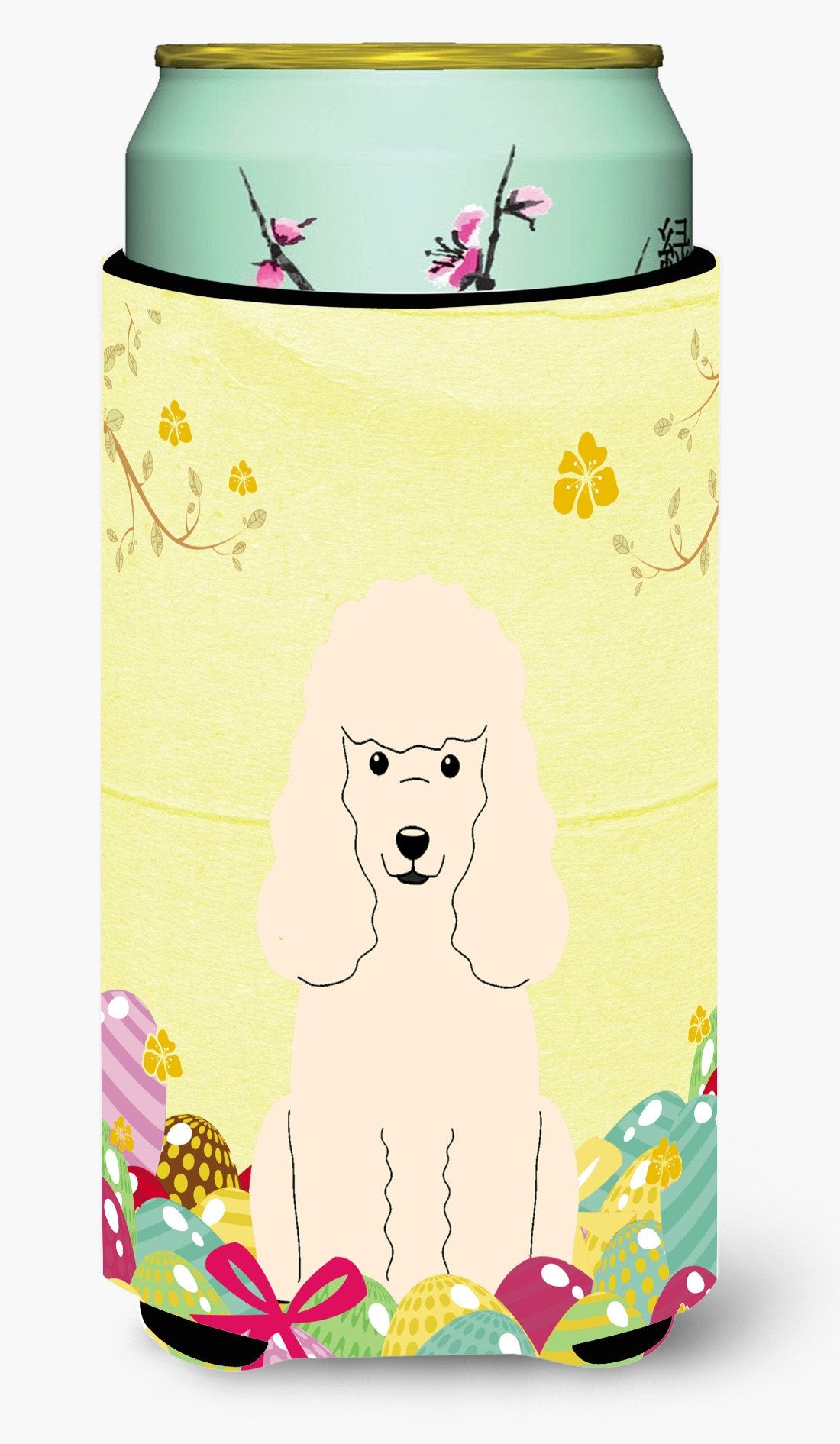 Easter Eggs Poodle White Tall Boy Beverage Insulator Hugger BB6070TBC by Caroline's Treasures