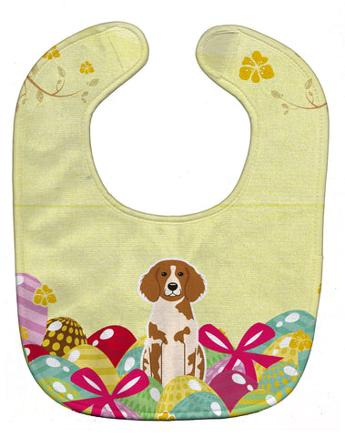 Buy this Easter Eggs Brittany Spaniel Baby Bib BB6072BIB