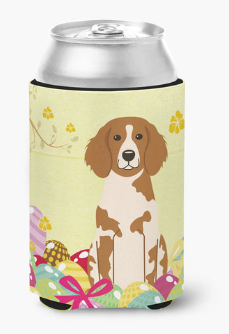 Buy this Easter Eggs Brittany Spaniel Can or Bottle Hugger BB6072CC