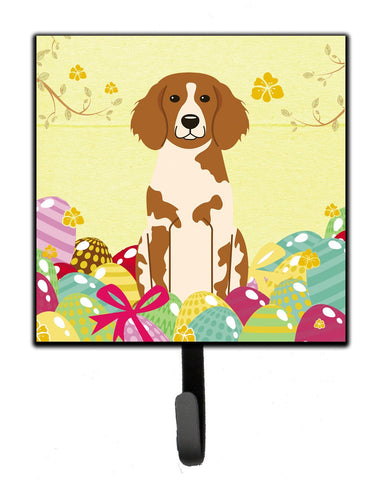 Buy this Easter Eggs Brittany Spaniel Leash or Key Holder BB6072SH4