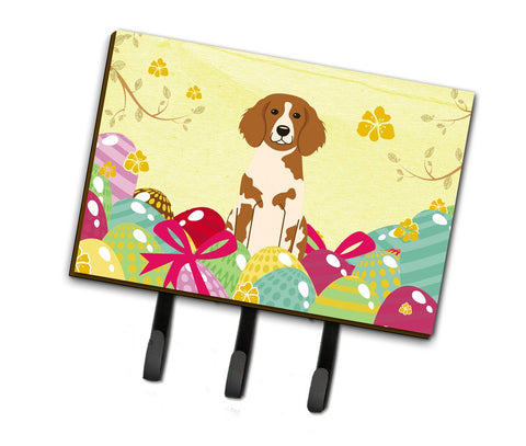 Buy this Easter Eggs Brittany Spaniel Leash or Key Holder BB6072TH68