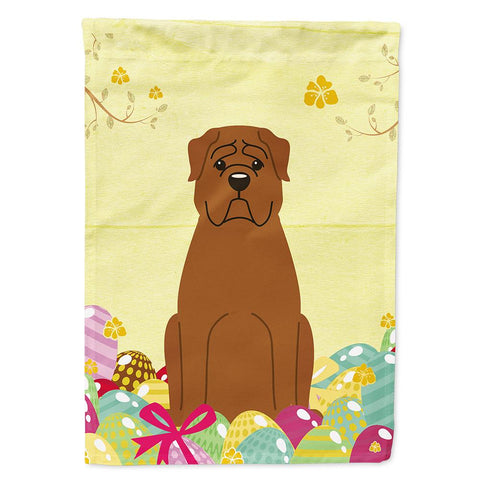 Buy this Easter Eggs Dogue de Bourdeaux Flag Garden Size BB6073GF