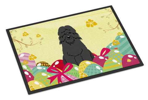 Buy this Easter Eggs Bouvier des Flandres Indoor or Outdoor Mat 18x27 BB6074MAT
