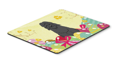 Buy this Easter Eggs Bouvier des Flandres Mouse Pad, Hot Pad or Trivet BB6074MP
