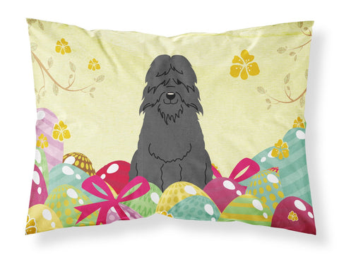 Buy this Easter Eggs Bouvier des Flandres Fabric Standard Pillowcase BB6074PILLOWCASE