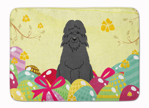 Buy this Easter Eggs Bouvier des Flandres Machine Washable Memory Foam Mat BB6074RUG