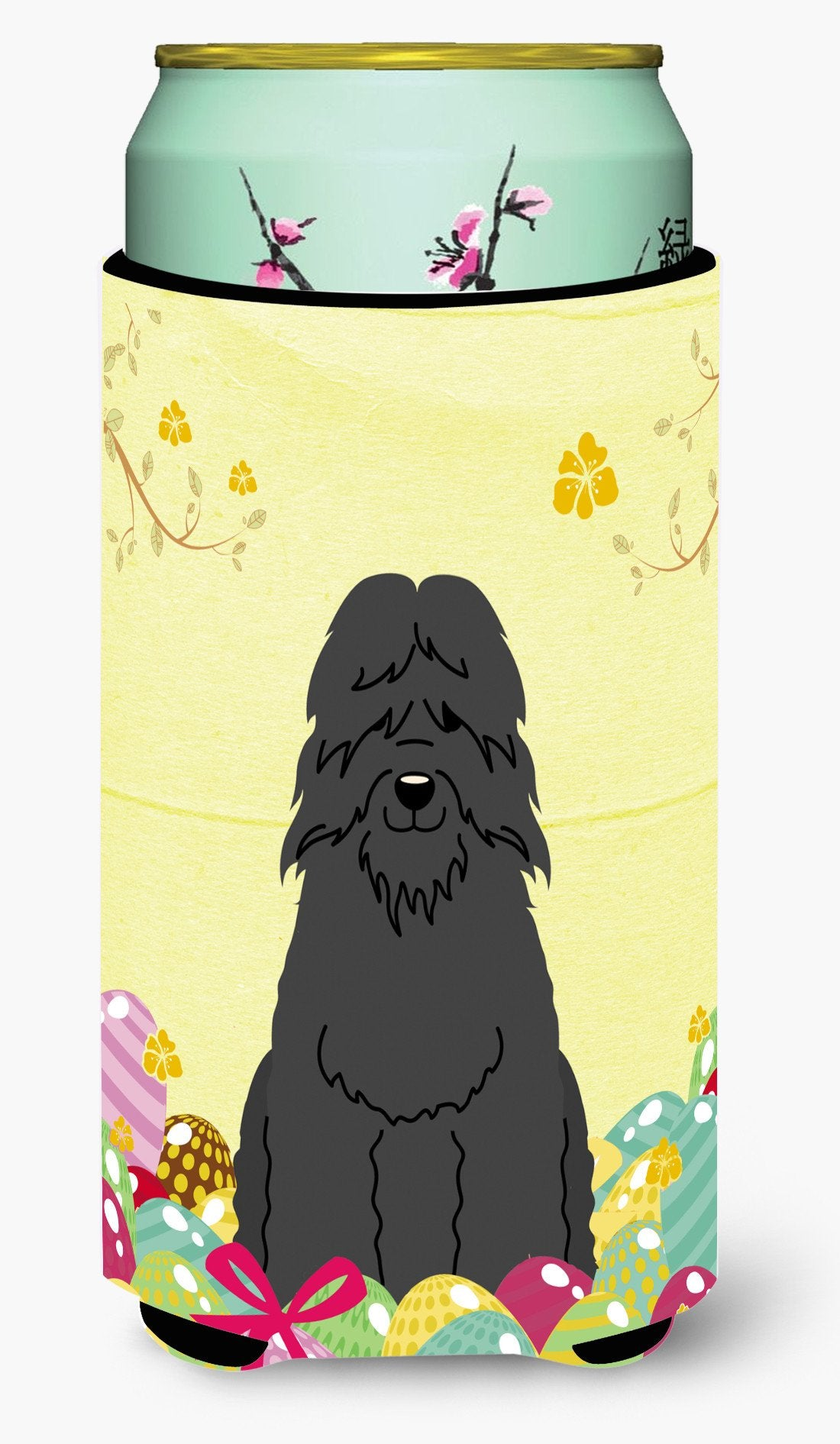 Easter Eggs Bouvier des Flandres Tall Boy Beverage Insulator Hugger BB6074TBC by Caroline's Treasures