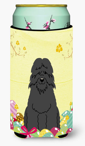 Buy this Easter Eggs Bouvier des Flandres Tall Boy Beverage Insulator Hugger BB6074TBC