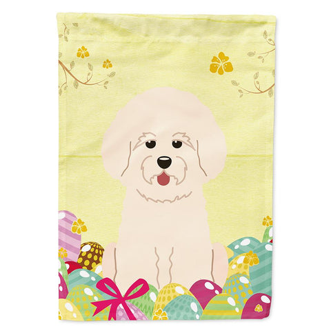 Buy this Easter Eggs Bichon Frise Flag Garden Size BB6075GF