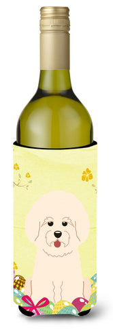 Buy this Easter Eggs Bichon Frise Wine Bottle Beverge Insulator Hugger BB6075LITERK