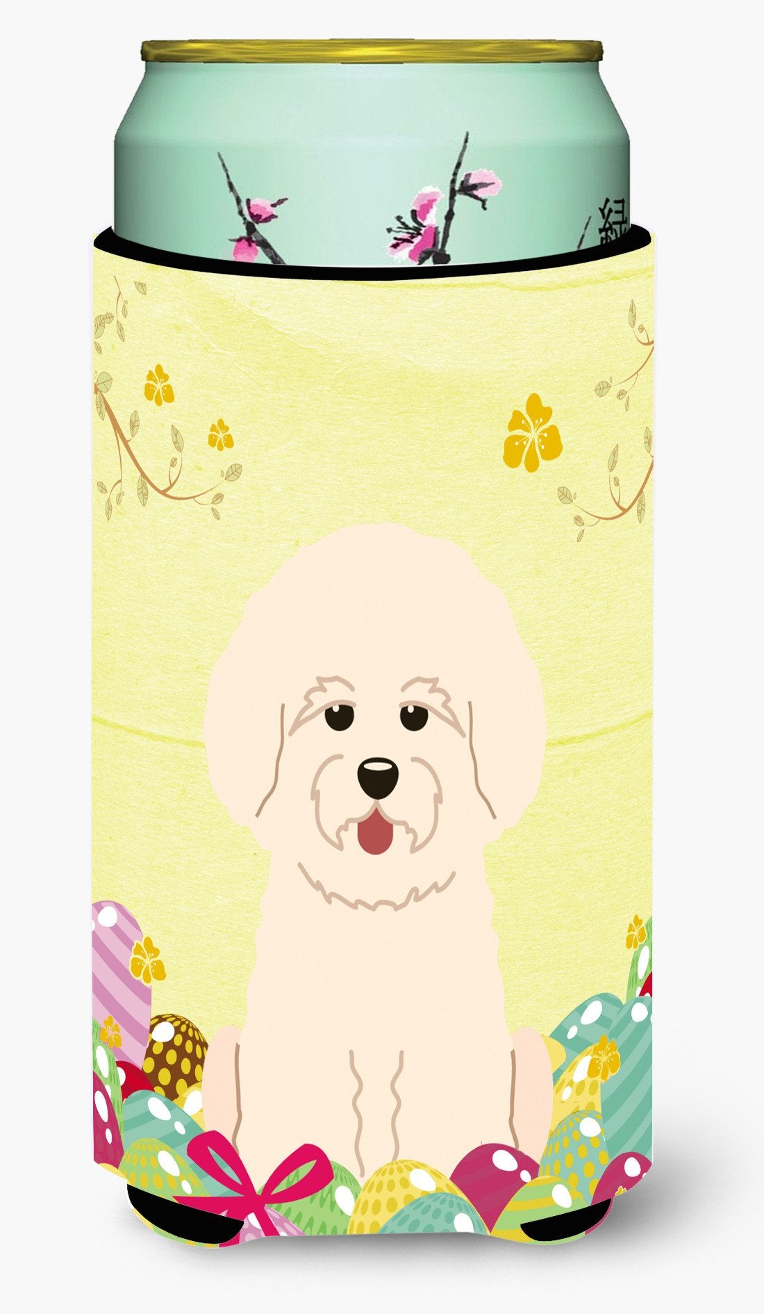 Easter Eggs Bichon Frise Tall Boy Beverage Insulator Hugger BB6075TBC by Caroline's Treasures