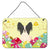 Buy this Easter Eggs Papillon Black White Wall or Door Hanging Prints
