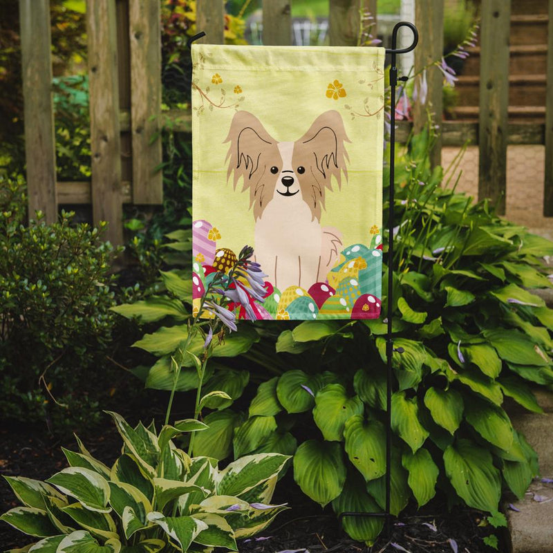 Buy this Easter Eggs Papillon Sable White Flag Garden Size BB6077GF