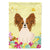 Buy this Easter Eggs Papillon Red White Flag Garden Size BB6078GF