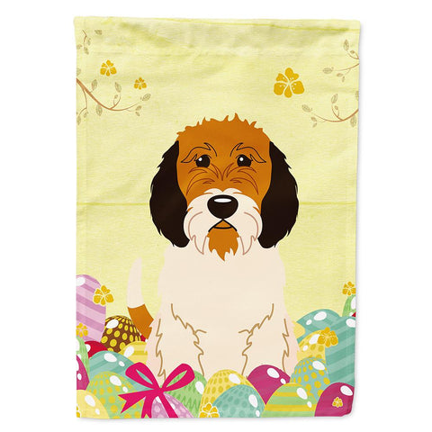 Buy this Easter Eggs Petit Basset Griffon Veenden Flag Garden Size BB6079GF