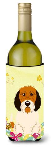 Buy this Easter Eggs Petit Basset Griffon Veenden Wine Bottle Beverge Insulator Hugger BB6079LITERK