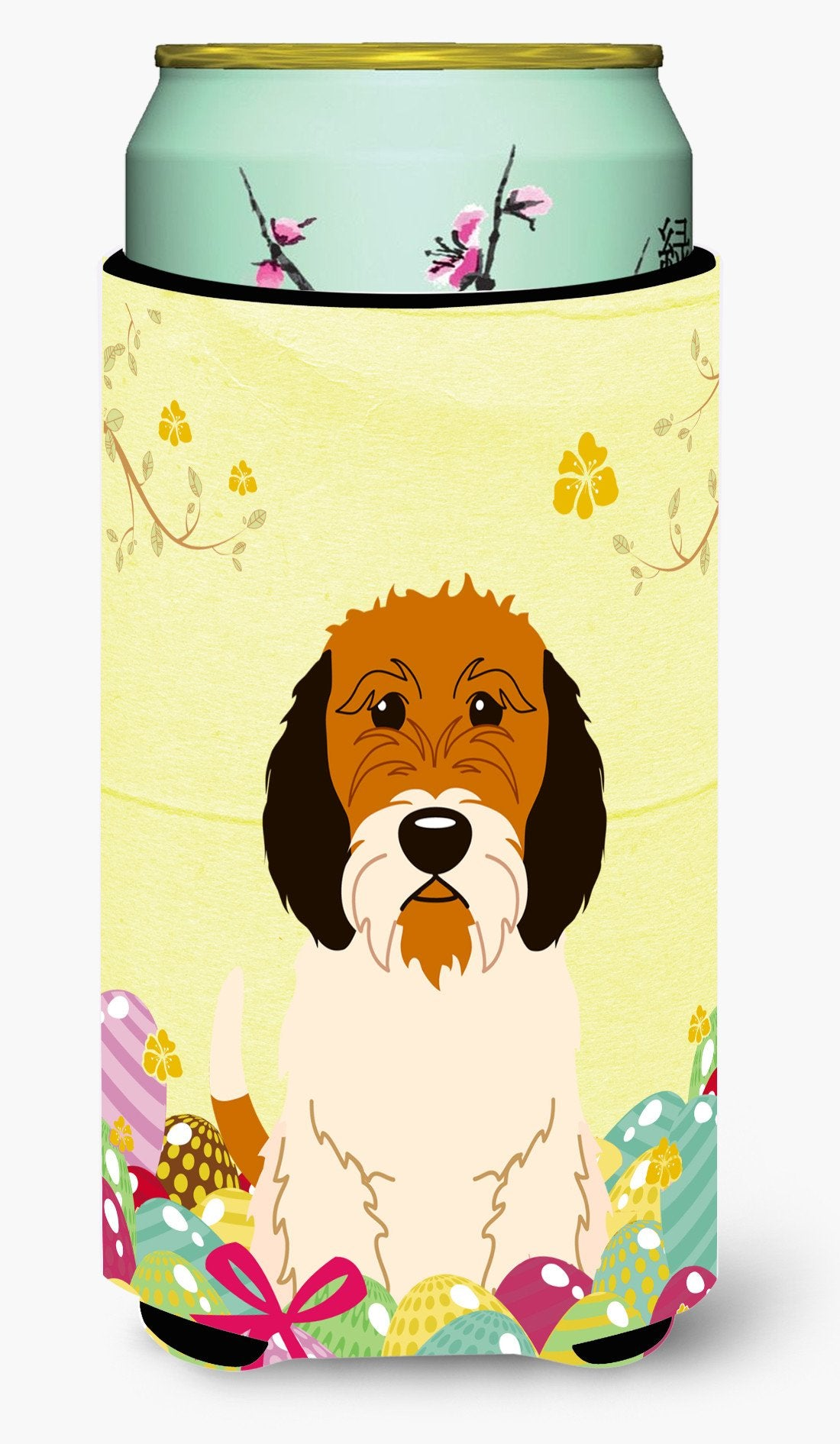 Easter Eggs Petit Basset Griffon Veenden Tall Boy Beverage Insulator Hugger BB6079TBC by Caroline's Treasures