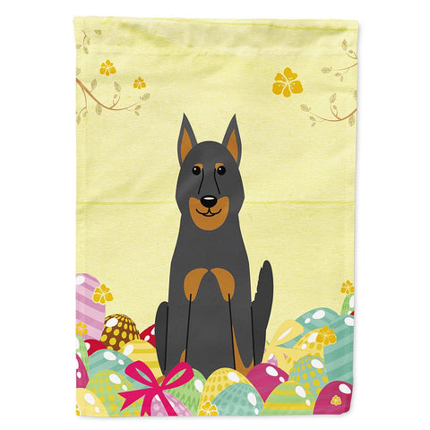 Buy this Easter Eggs Beauce Shepherd Dog Flag Garden Size BB6080GF