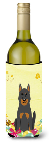 Buy this Easter Eggs Beauce Shepherd Dog Wine Bottle Beverge Insulator Hugger BB6080LITERK