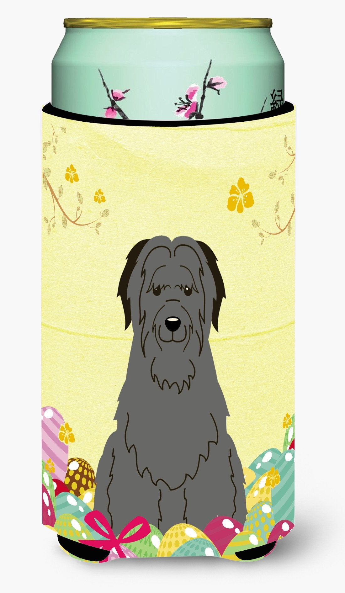 Easter Eggs Briard Black Tall Boy Beverage Insulator Hugger BB6081TBC by Caroline's Treasures