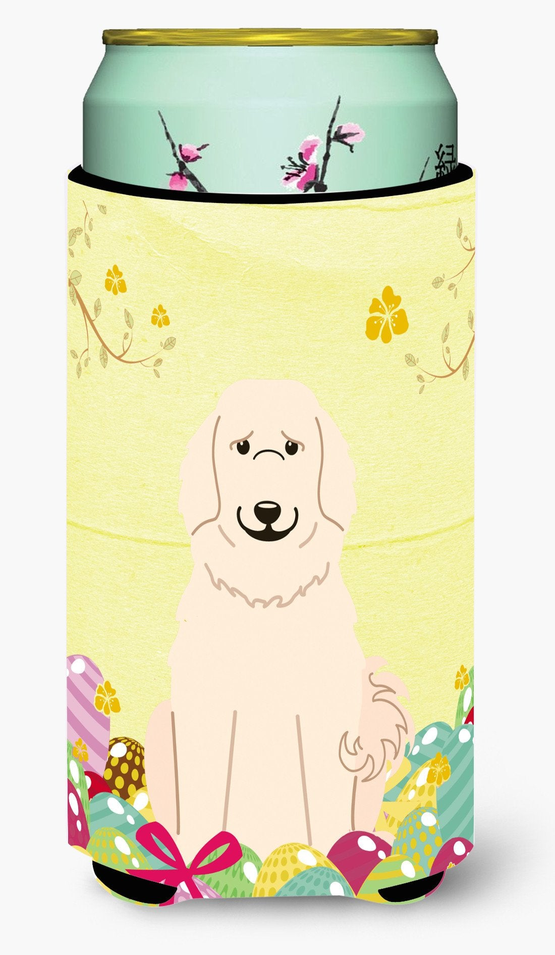Easter Eggs Great Pyrenese Tall Boy Beverage Insulator Hugger BB6083TBC by Caroline's Treasures