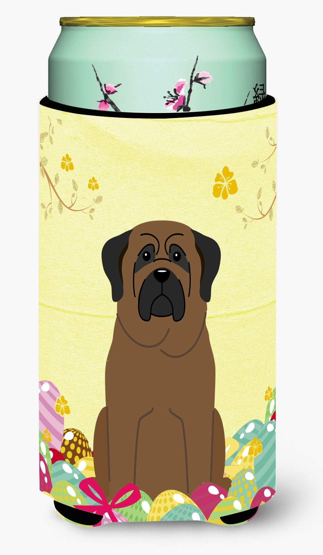 Easter Eggs Bullmastiff Tall Boy Beverage Insulator Hugger BB6084TBC by Caroline's Treasures