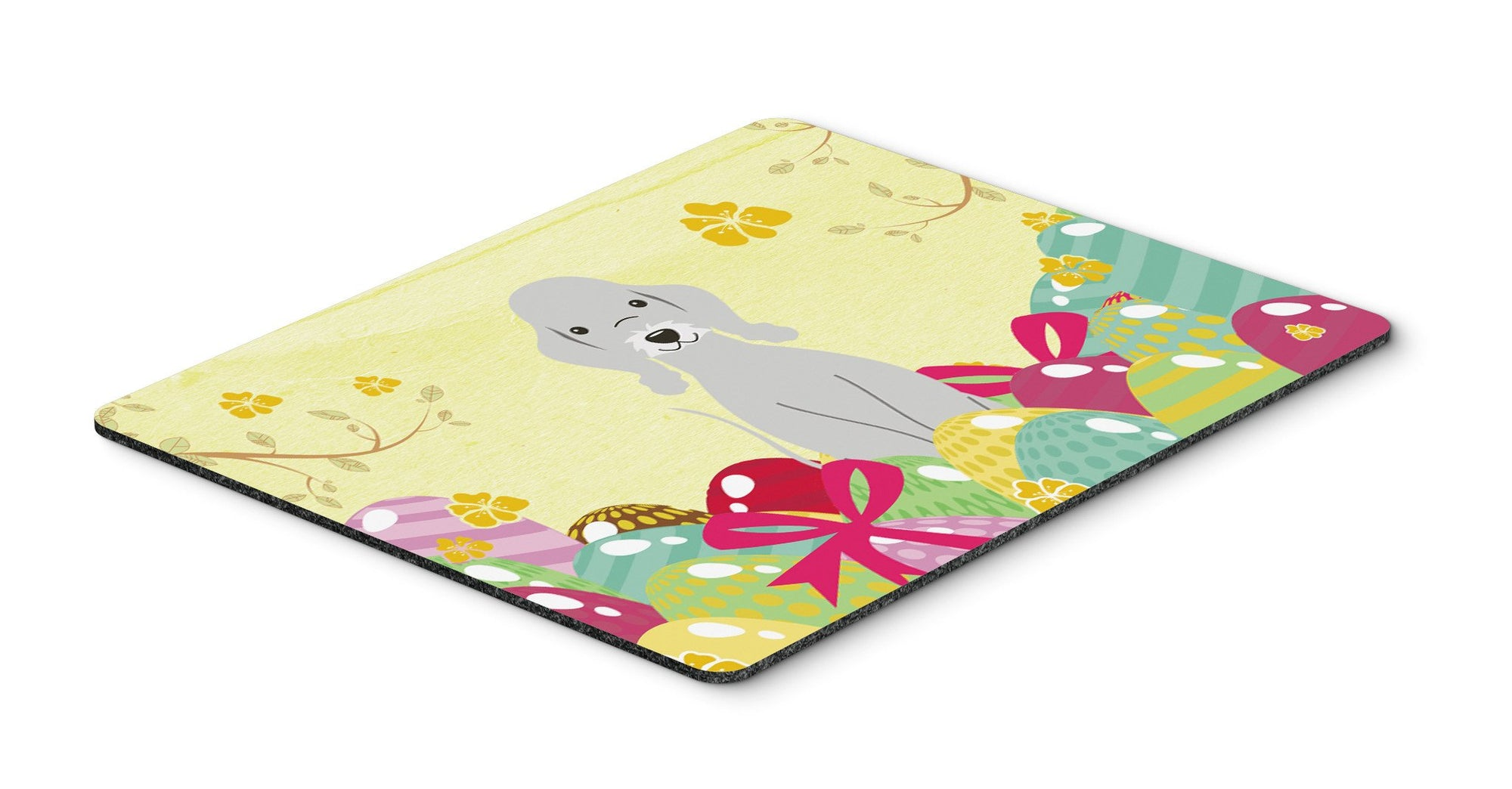 Easter Eggs Bedlington Terrier Blue Mouse Pad, Hot Pad or Trivet BB6090MP by Caroline's Treasures