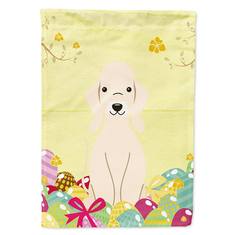 Buy this Easter Eggs Bedlington Terrier Sandy Flag Garden Size BB6091GF