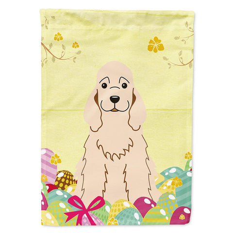 Buy this Easter Eggs Cocker Spaniel Buff Flag Garden Size BB6094GF