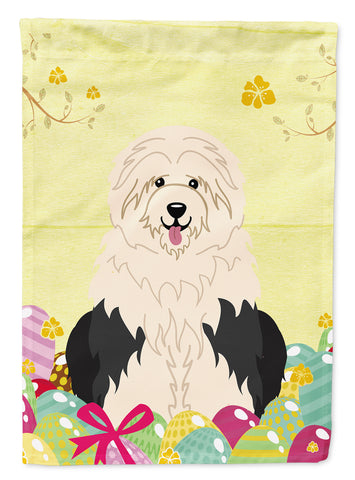 Buy this Easter Eggs Old English Sheepdog Flag Garden Size BB6096GF