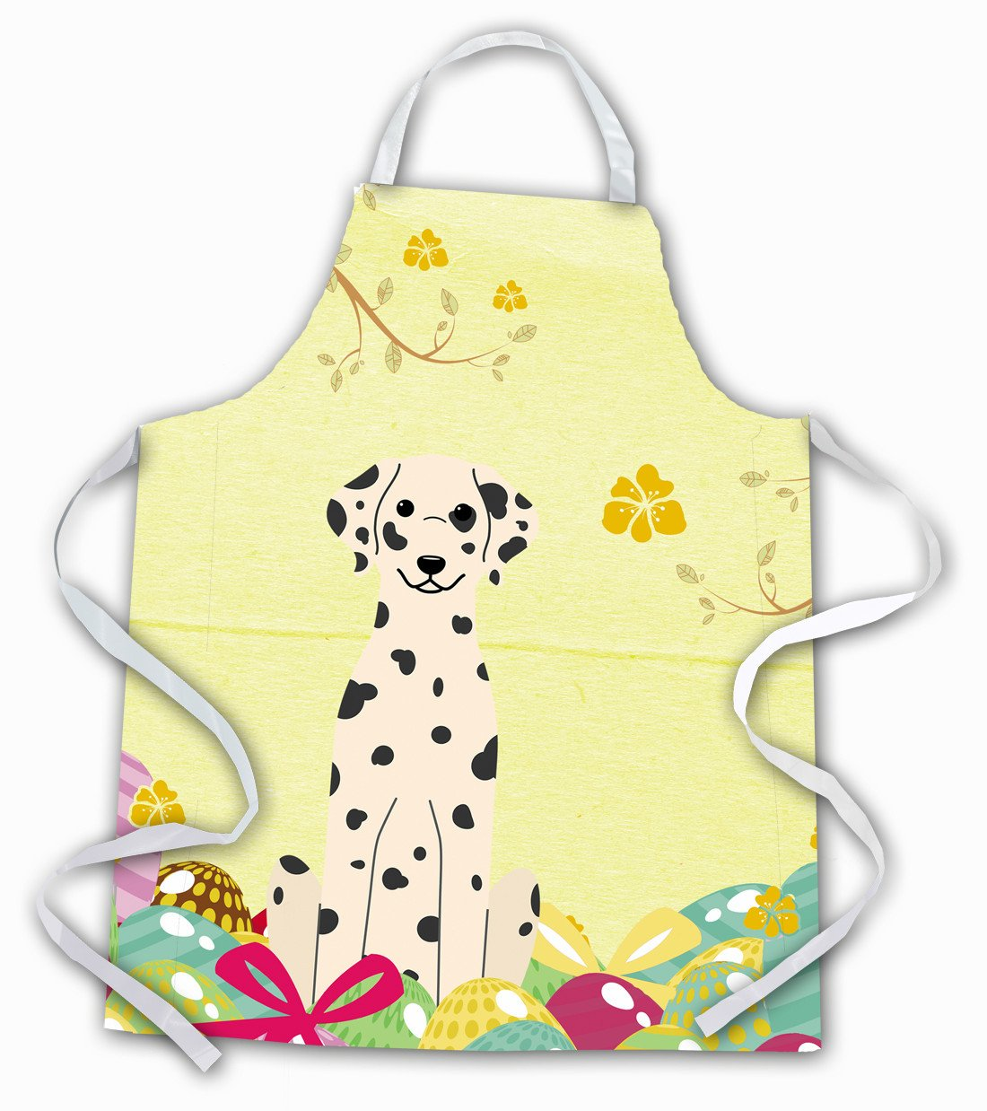 Easter Eggs Dalmatian Apron BB6097APRON by Caroline's Treasures