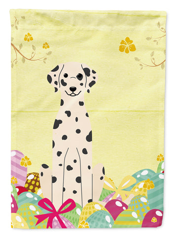 Buy this Easter Eggs Dalmatian Flag Garden Size BB6097GF