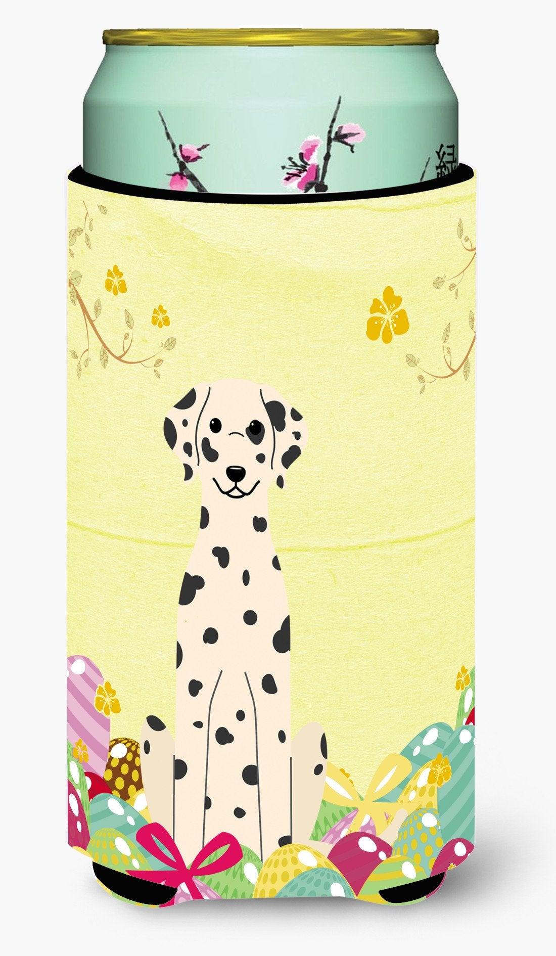 Easter Eggs Dalmatian Tall Boy Beverage Insulator Hugger BB6097TBC by Caroline's Treasures