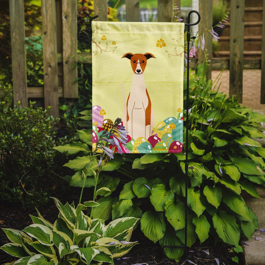 Buy this Easter Eggs Whippet Flag Garden Size
