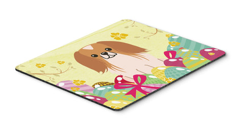 Buy this Easter Eggs Pekingnese Red White Mouse Pad, Hot Pad or Trivet BB6103MP