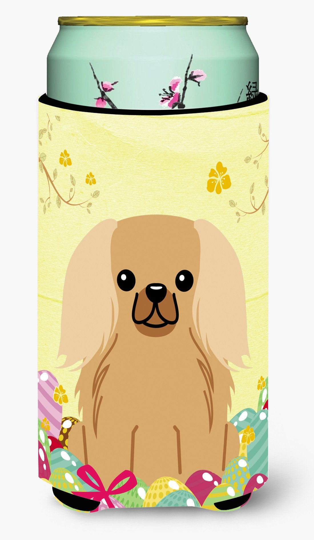 Easter Eggs Pekingnese Fawn Sable Tall Boy Beverage Insulator Hugger BB6104TBC by Caroline's Treasures
