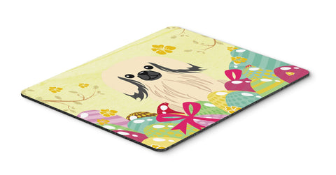Buy this Easter Eggs Pekingnese Cream Mouse Pad, Hot Pad or Trivet BB6106MP