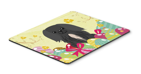 Buy this Easter Eggs Pekingnese Black Mouse Pad, Hot Pad or Trivet BB6107MP
