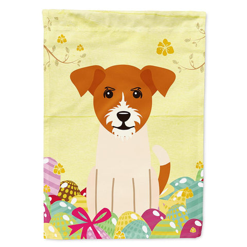 Buy this Easter Eggs Jack Russell Terrier Flag Garden Size BB6108GF