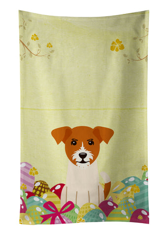 Buy this Easter Eggs Jack Russell Terrier Kitchen Towel BB6108KTWL