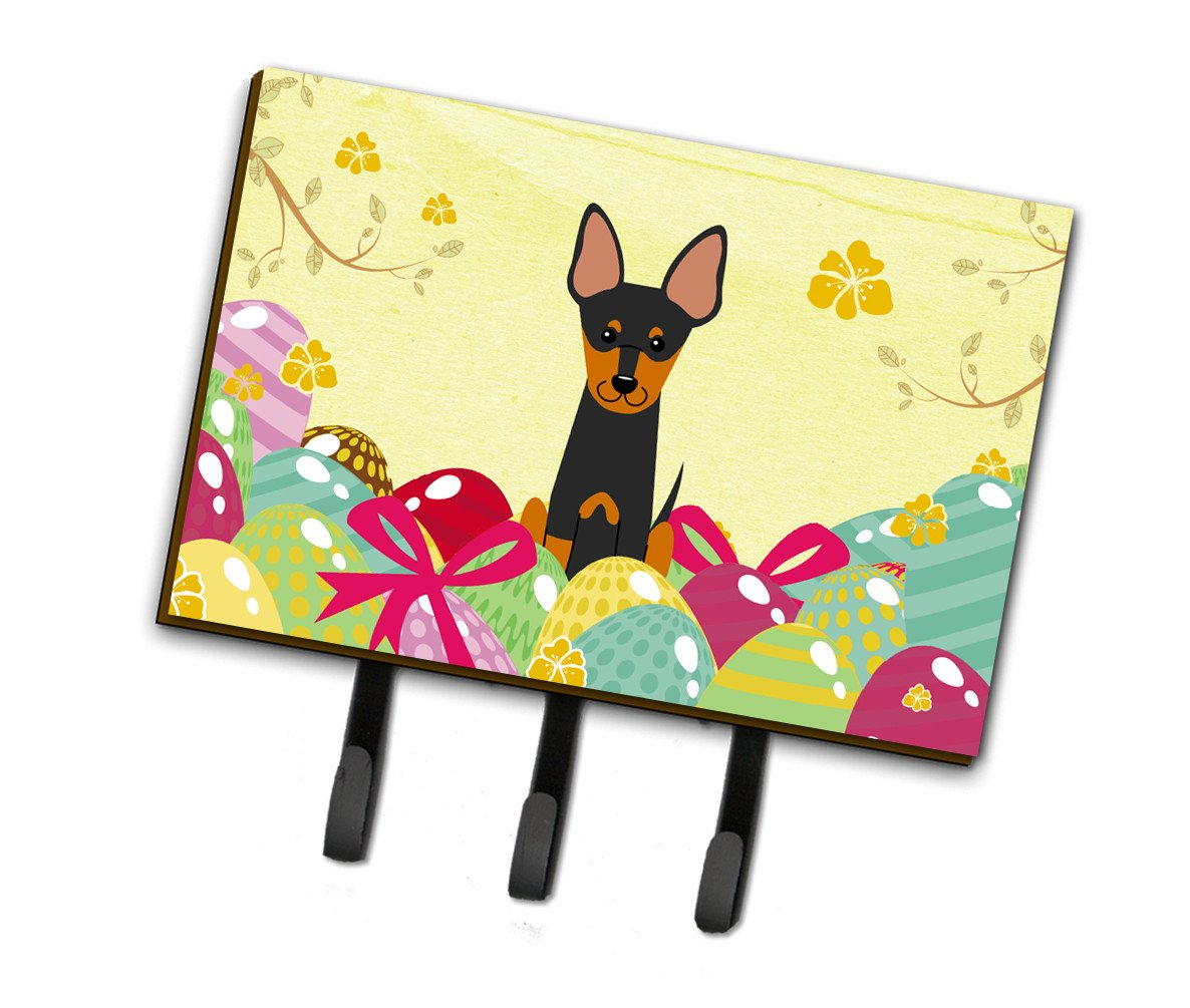 Easter Eggs English Toy Terrier Leash or Key Holder BB6109TH68 by Caroline's Treasures