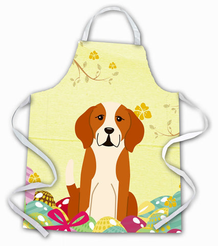 Buy this Easter Eggs English Foxhound Apron BB6110APRON