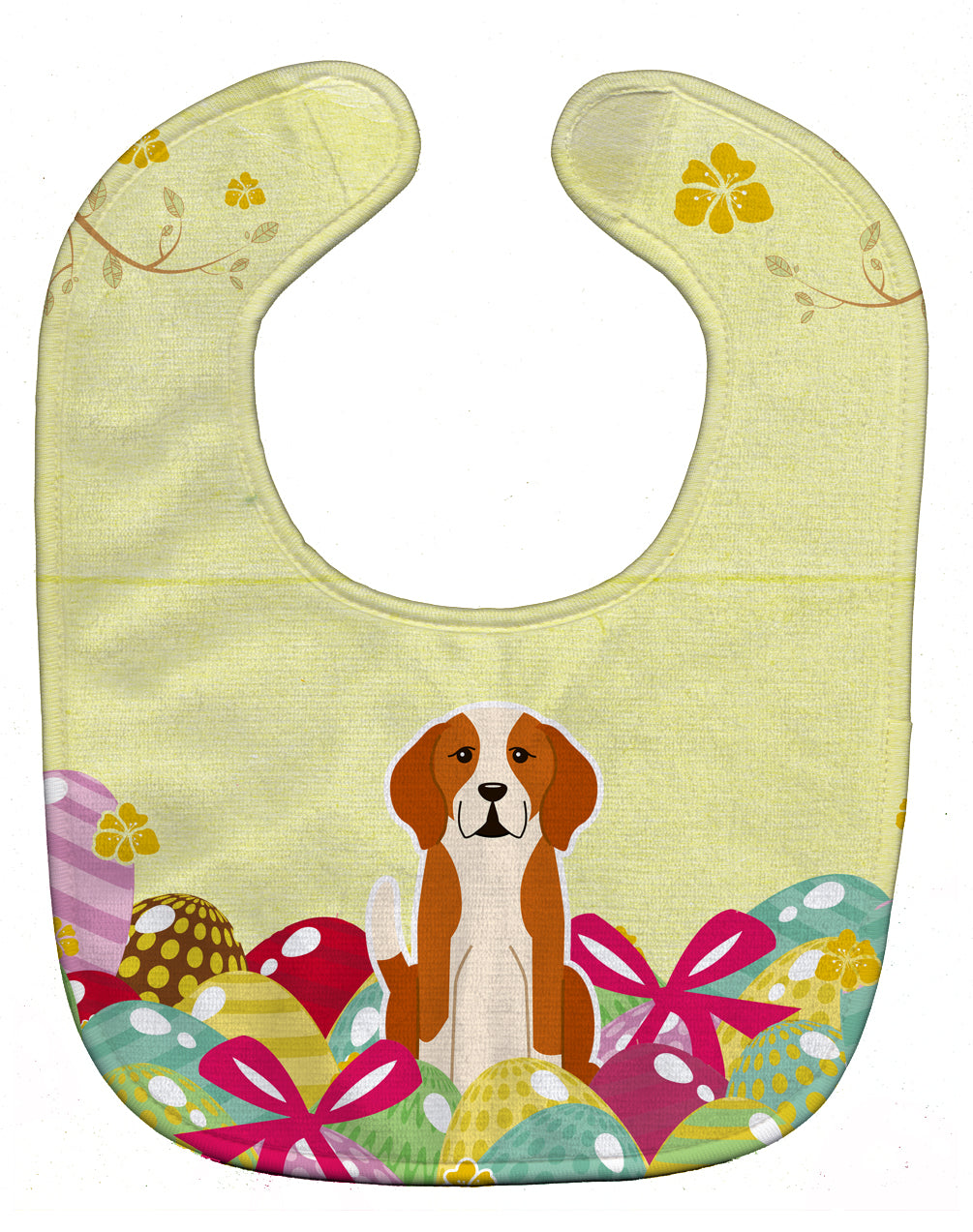 Easter Eggs English Foxhound Baby Bib BB6110BIB by Caroline's Treasures