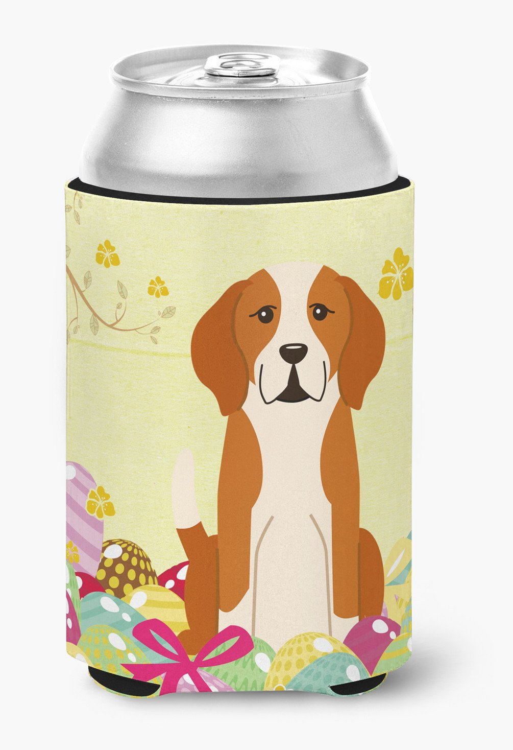 Easter Eggs English Foxhound Can or Bottle Hugger BB6110CC by Caroline's Treasures