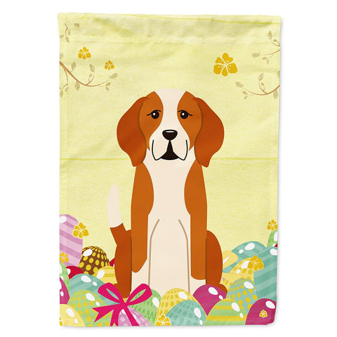 Buy this Easter Eggs English Foxhound Flag Garden Size BB6110GF