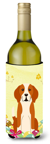 Buy this Easter Eggs English Foxhound Wine Bottle Beverge Insulator Hugger BB6110LITERK
