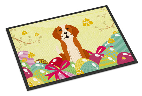 Buy this Easter Eggs English Foxhound Indoor or Outdoor Mat 18x27 BB6110MAT